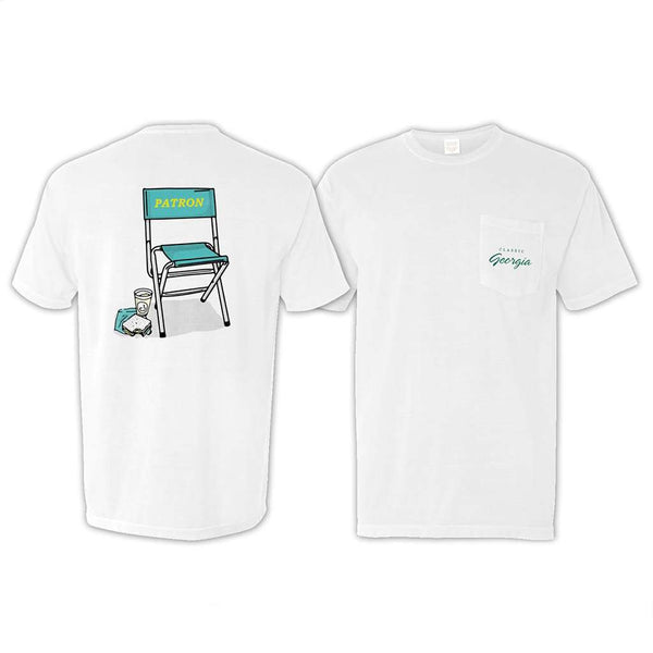 Classic Georgia Limited Edition Patron Chair Pocket T-Shirt
