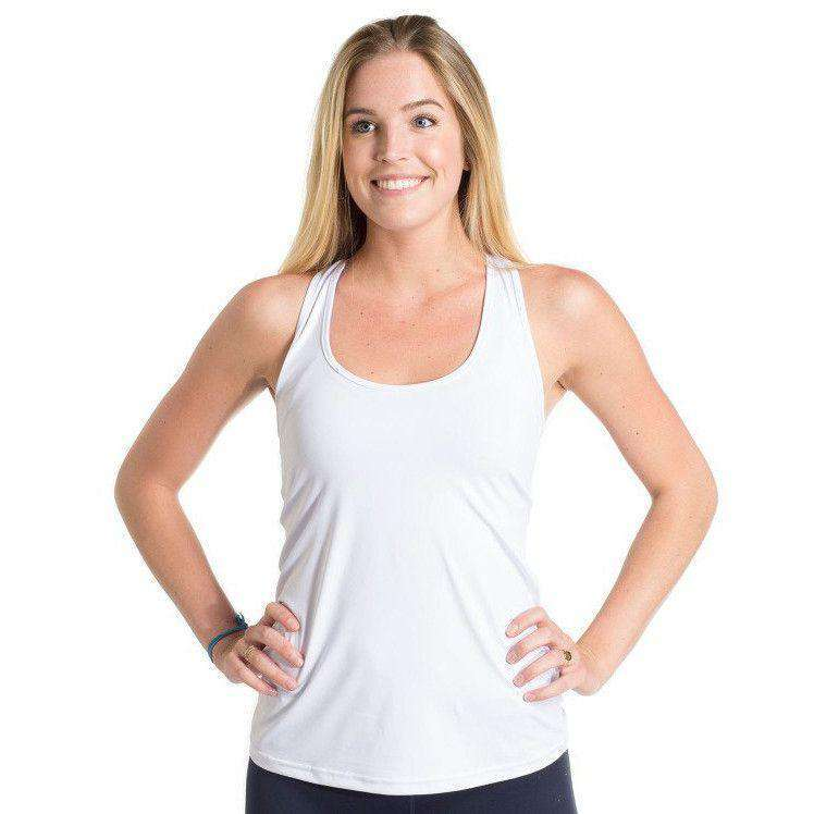Classic Logo Tank Top in White by Krass & Co.  - 1