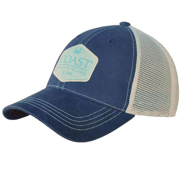 Trucker Hat in Coast Green Patch by Coast