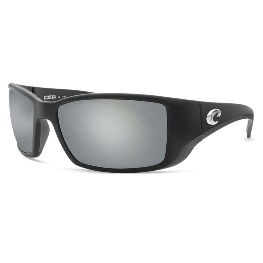 ea9fd5a650 Costa del Mar Blackfin Sunglasses in Matte Black with Gray Polarized Glass  Lenses – Country Club Prep