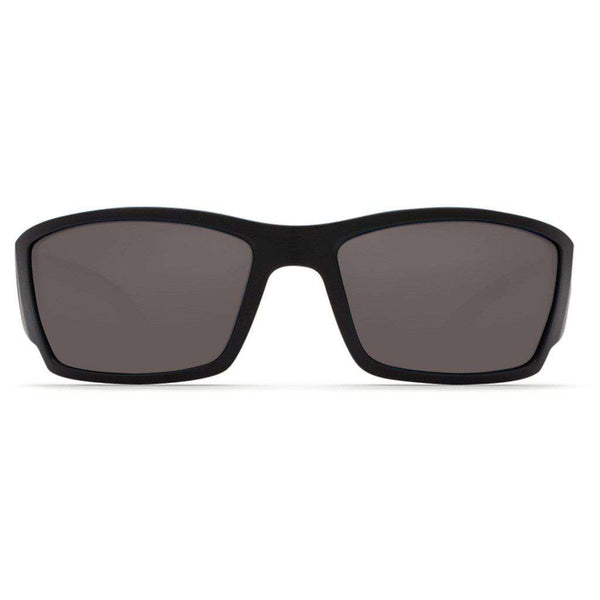 Costa del Mar Corbina Sunglasses in Blackout with Gray Polarized Glass Lenses