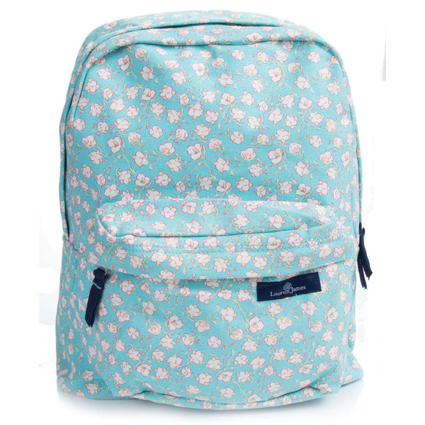 Cotton Back Pack in Mint by Lauren James - FINAL SALE