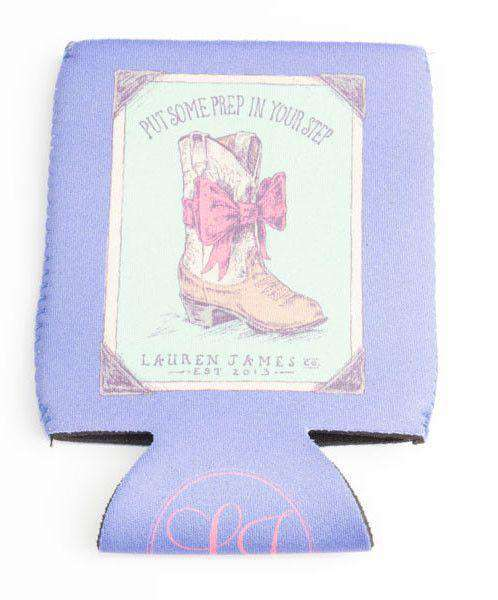 Prep In My Step Can Holder in Periwinkle by Lauren James