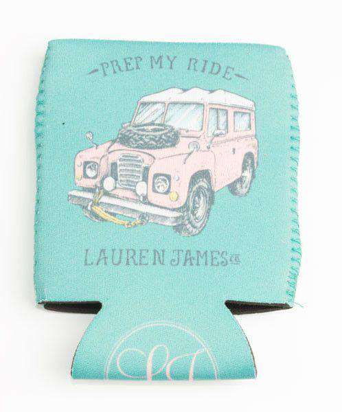 Prep My Ride Can Holder in Seafoam by Lauren James