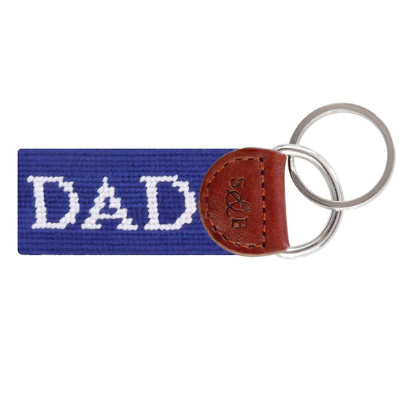 Dad Needlepoint Key Fob by Smathers & Branson