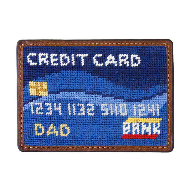 Smathers & Branson Dad's Credit Card Needlepoint Credit Card Wallet