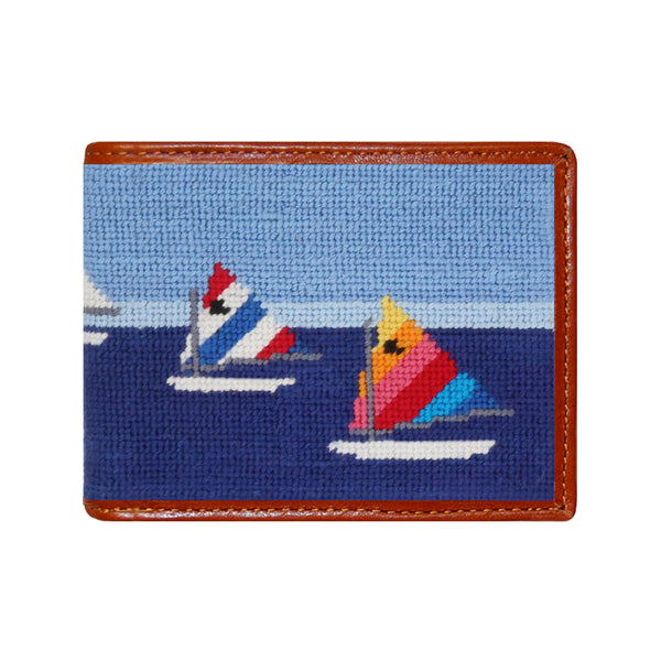 Day Sailor Needlepoint Wallet by Smathers & Branson
