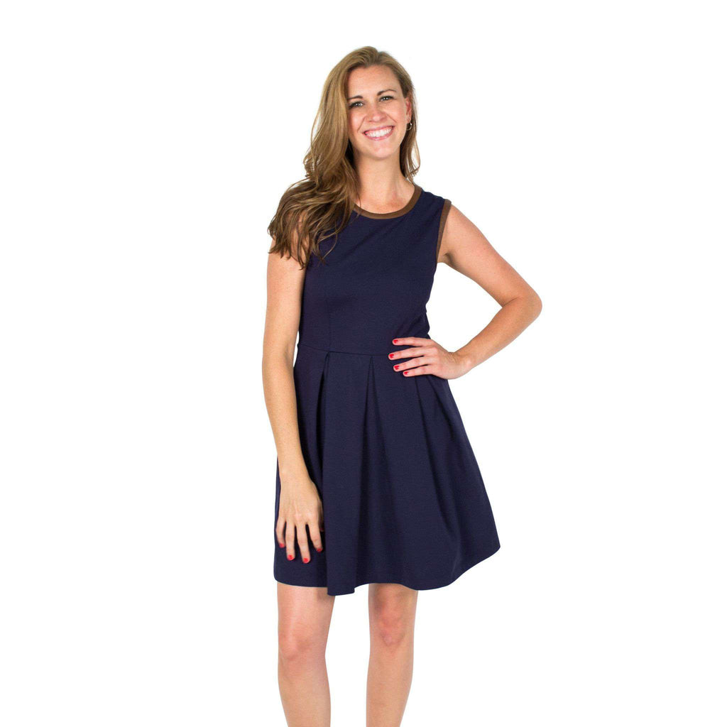 Divit Stomp Dress Navy by Sail to Sable  - 1