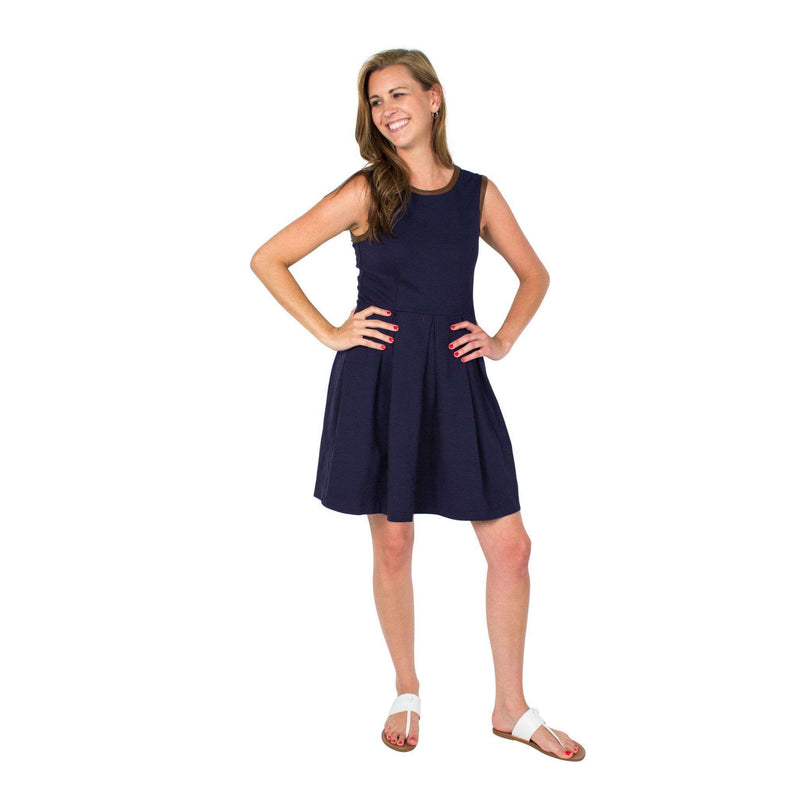 Divit Stomp Dress Navy by Sail to Sable  - 2