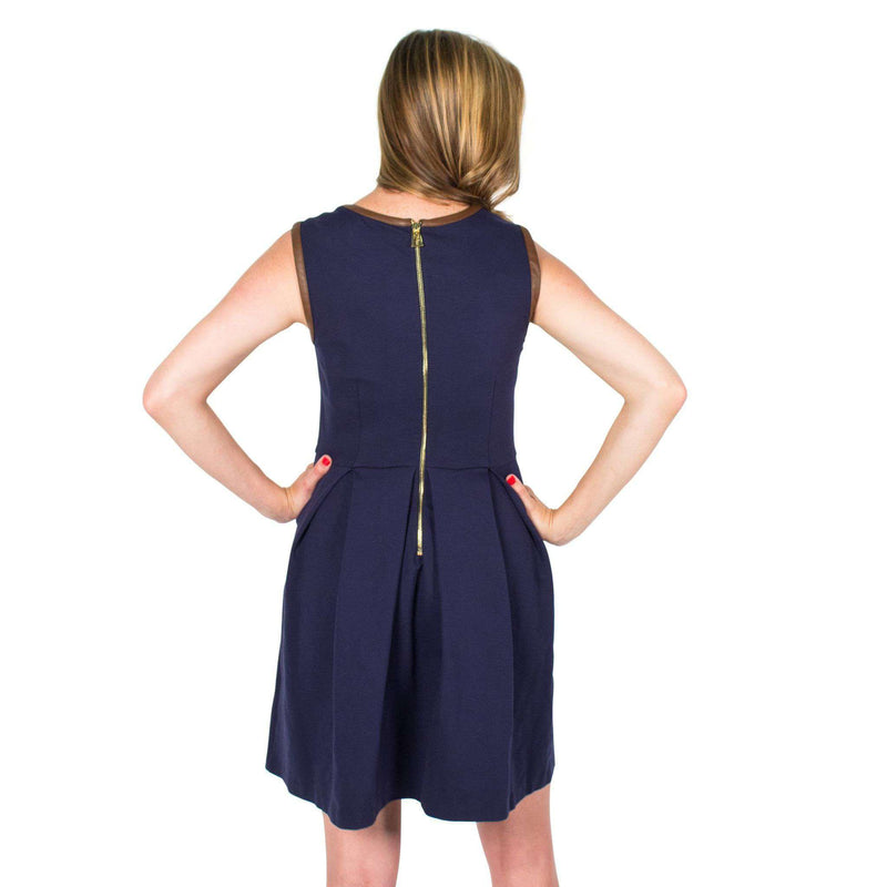 Divit Stomp Dress Navy by Sail to Sable  - 3