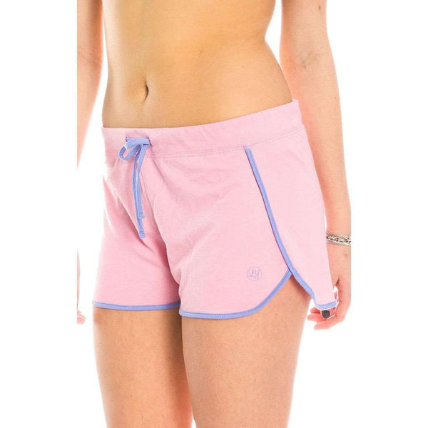 Draw String Shorts in Cotton Candy Pink by Lauren James