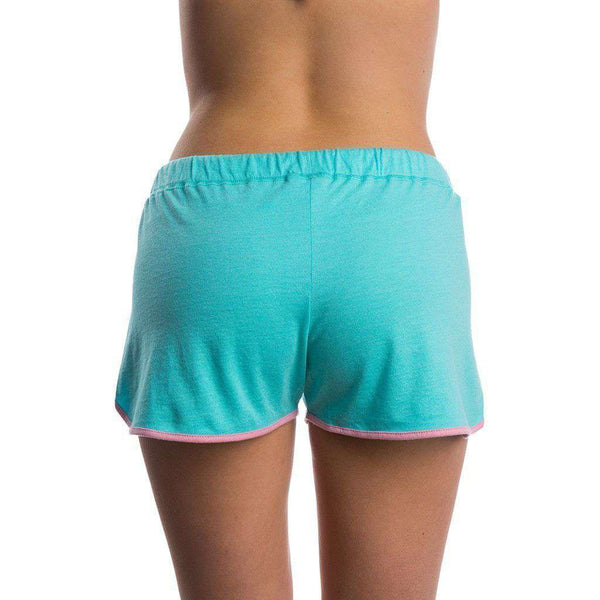 Draw String Shorts in Ocean Palm by Lauren James - FINAL SALE