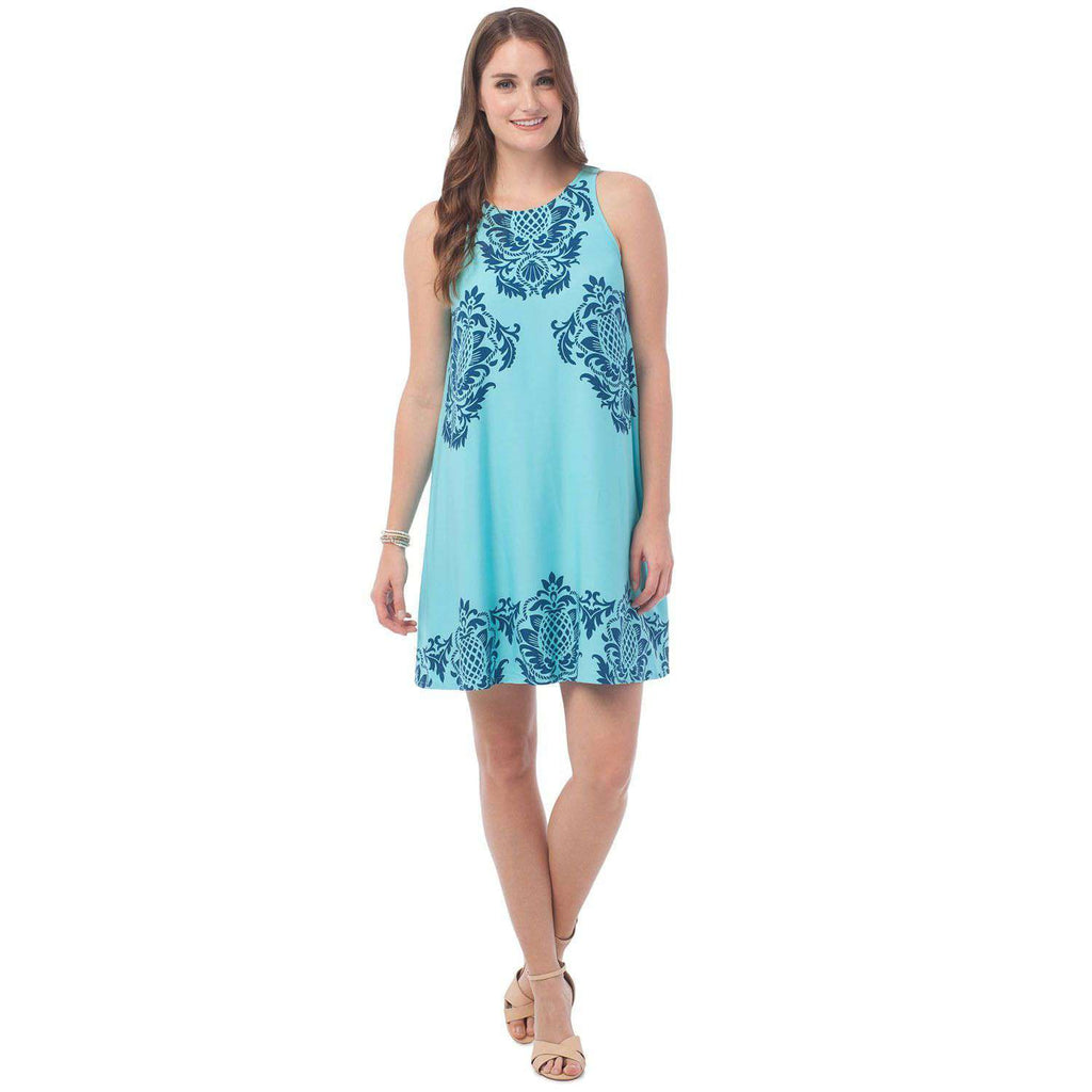 Peyton Swing Dress in Charleston Filigre by Southern Tide  - 1