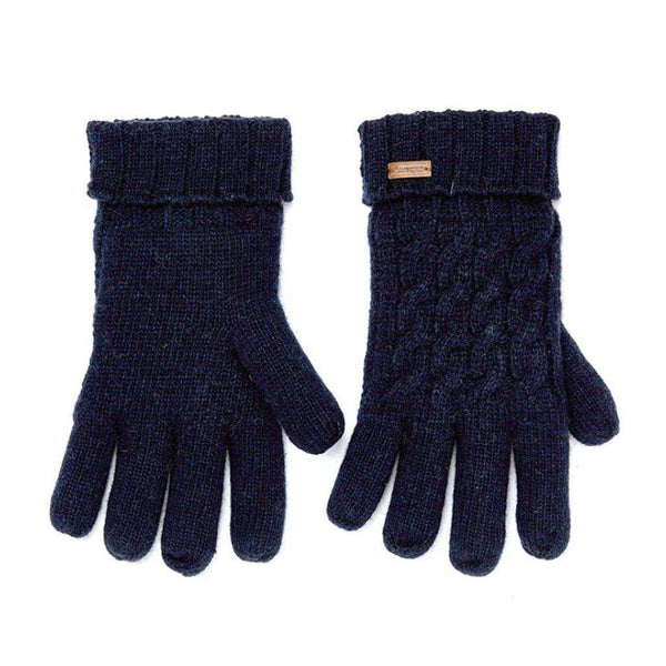 Dubarry of Ireland Arklow Knitted Gloves navy