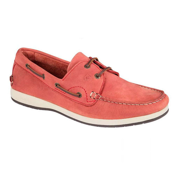 Dubarry of Ireland Pacific Deck Shoe red