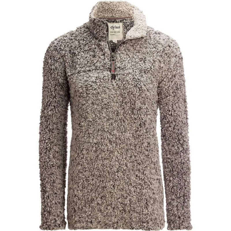 True Grit Frosty Tipped Women's Stadium Pullover in Charcoal by True Grit (Dylan)