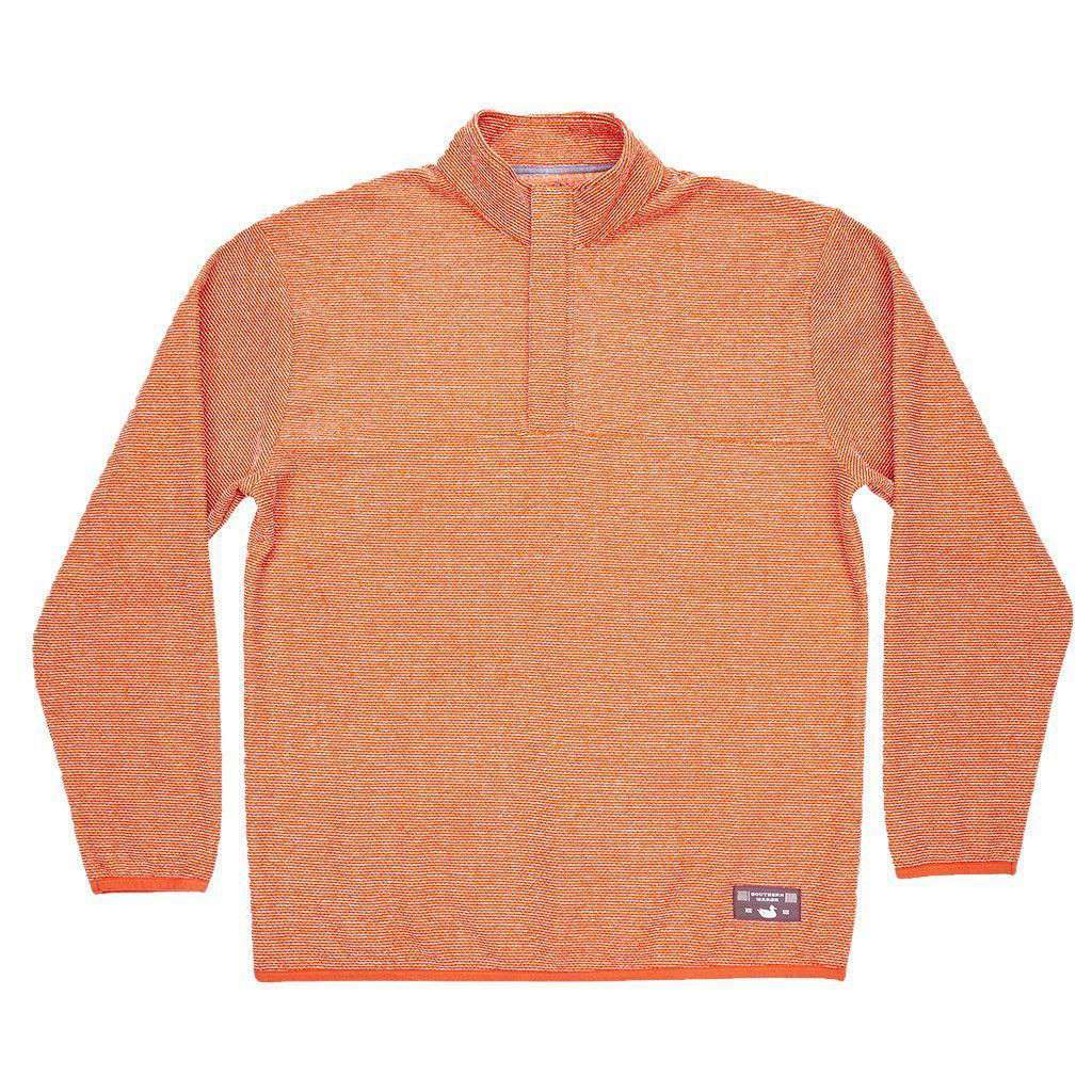 Eagle Trail Pullover in Burnt Orange and Tan Trail by Southern Marsh  - 1
