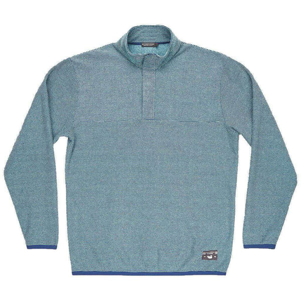 Eagle Trail Pullover in Slate and Mint Trail by Southern Marsh  - 1