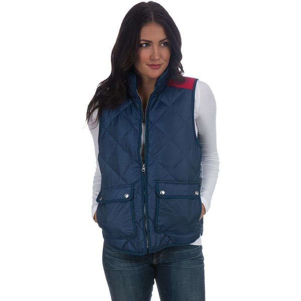 Easton Vest in Sailor Navy by Lauren James  - 1