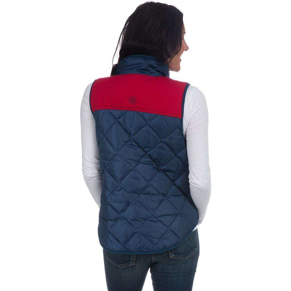 Easton Vest in Sailor Navy by Lauren James  - 2