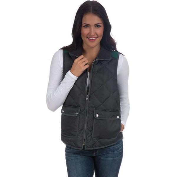 Easton Vest in Charcoal by Lauren James  - 1