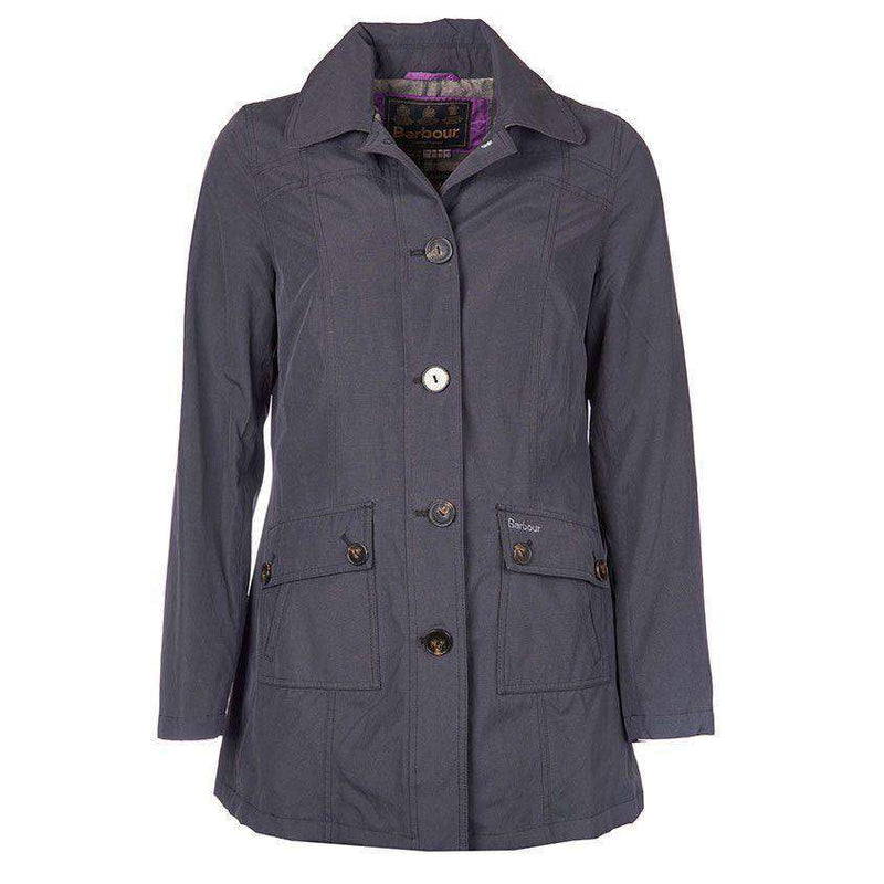 Eigg Waterproof Jacket in Black by Barbour  - 1