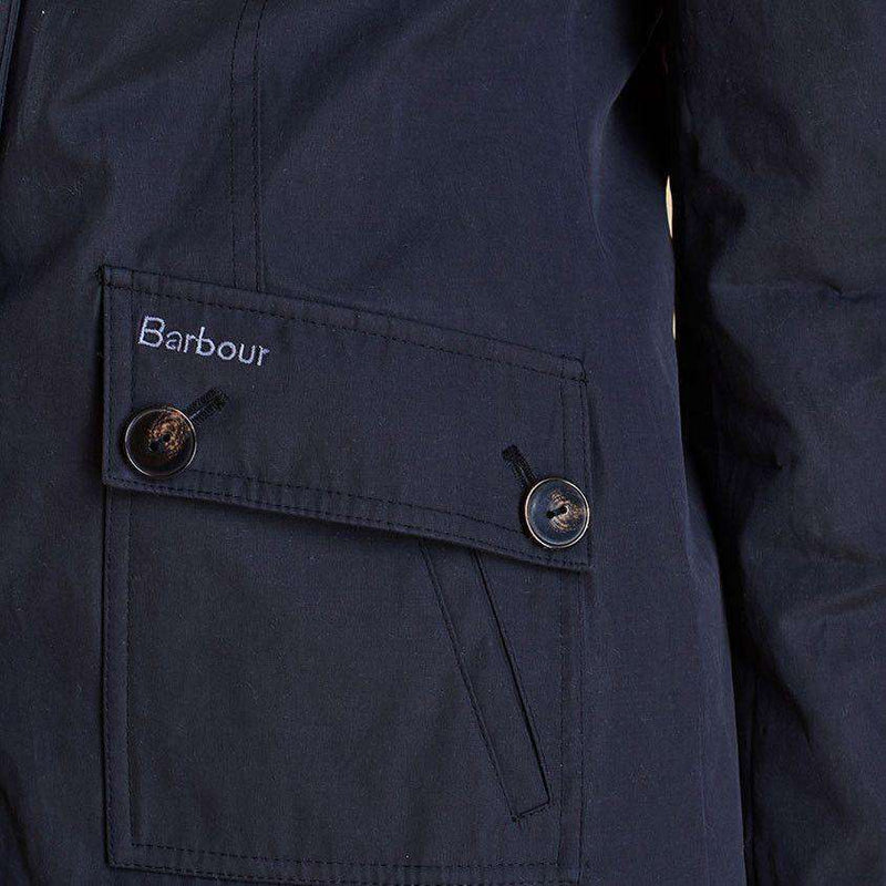 Eigg Waterproof Jacket in Black by Barbour  - 3