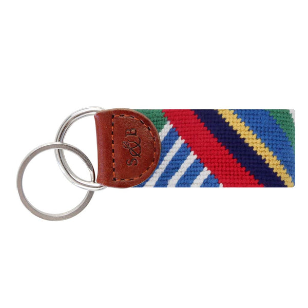 Essex Needlepoint Key Fob by Smathers & Branson