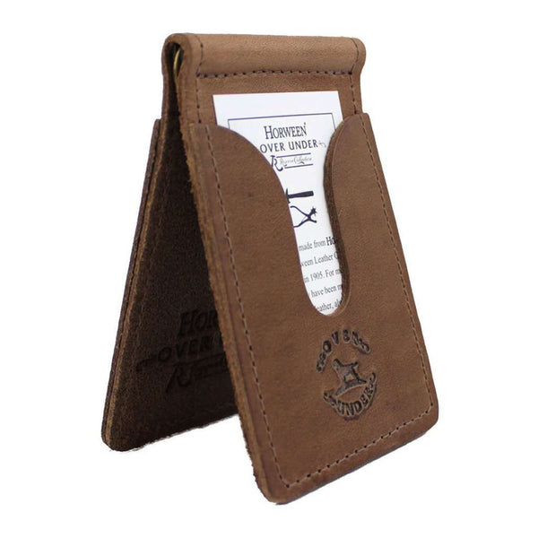 Over Under Clothing Horween Front Pocket Wallet w/o Shotgun Shell By Over Under Clothing