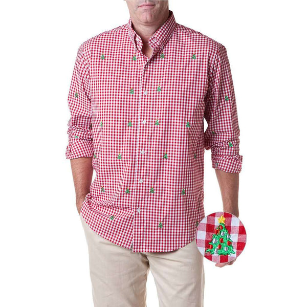 Country Club Prep Red Gingham / S