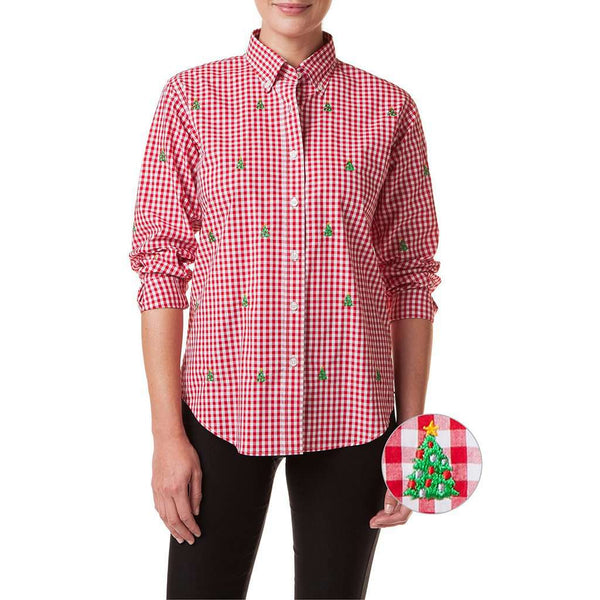 Country Club Prep Red Gingham / XS
