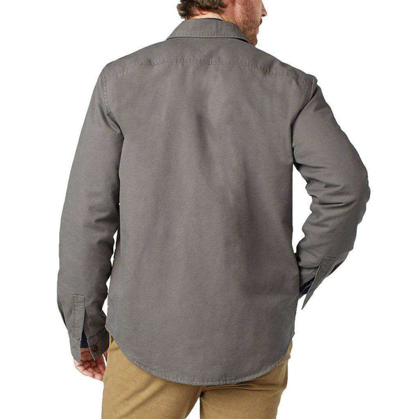 Blanked Lined CPO Jacket in Grey by Faherty - FINAL SALE