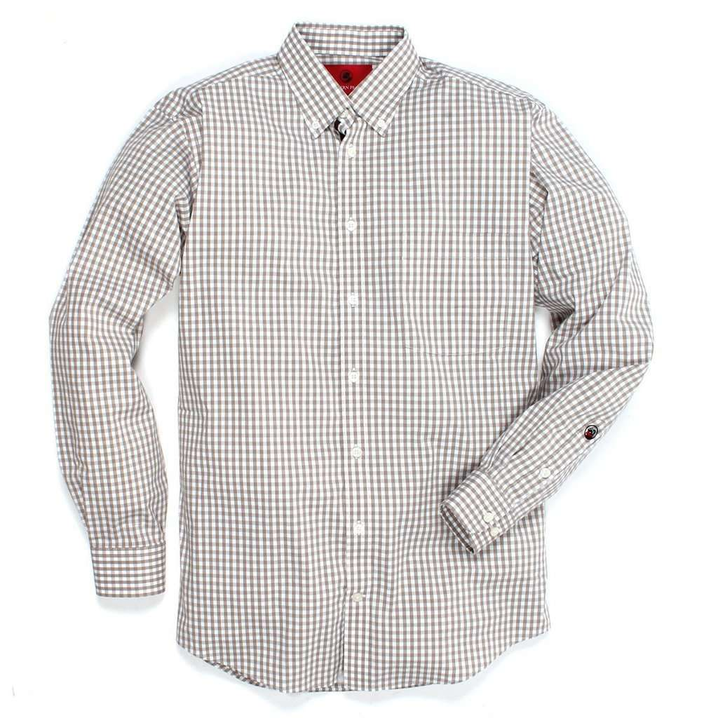 The Goal Line Button Down in Cashew by Southern Proper