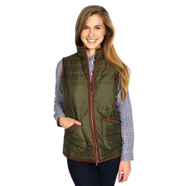 Fell Polarquilt Gilet in Olive by Barbour  - 1
