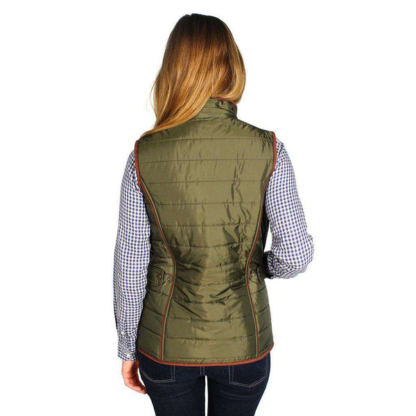 Fell Polarquilt Gilet in Olive by Barbour - FINAL SALE