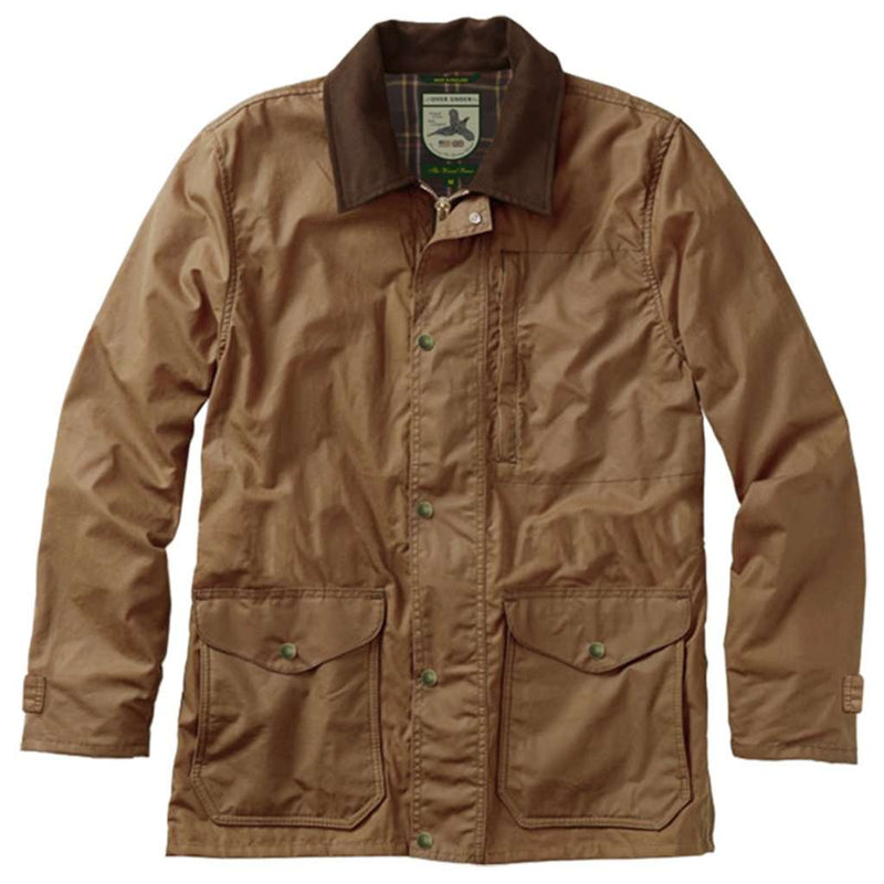 Over Under Clothing Waxed Briar Jacket by Over Under Clothing
