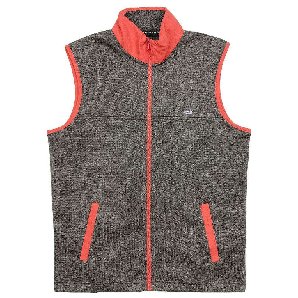 FieldTec Woodford Vest in Midnight Gray by Southern Marsh  - 1