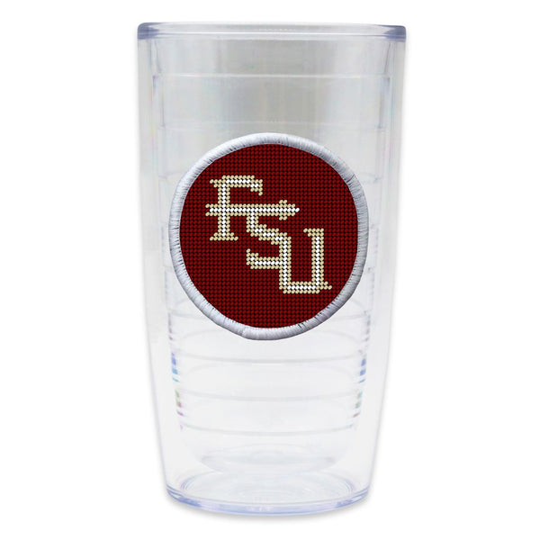 Florida State Needlepoint Tumbler by Smathers & Branson