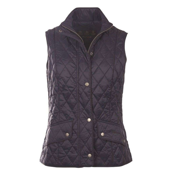 f4d07e66c934 Flyweight Cavalry Quilted Gilet in Navy by Barbour - Country Club Prep