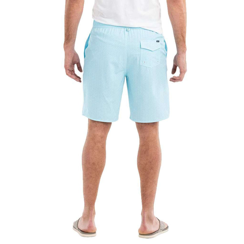 Folly Half Elastic Surf Shorts in Breaker by Johnnie-O - FINAL SALE