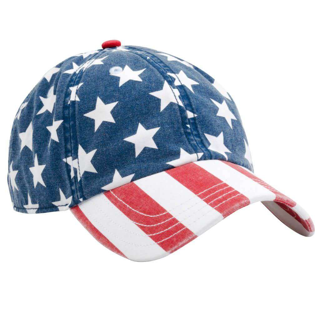 Freedom Hat in Red, White, & Blue by Rowdy Gentleman  - 1