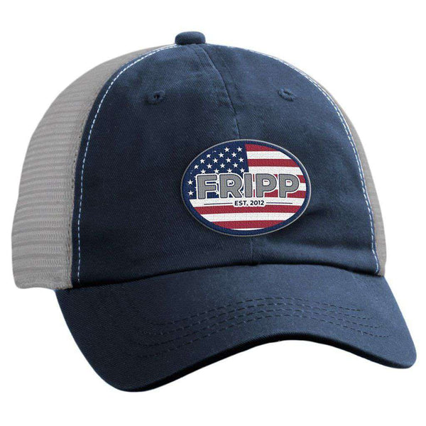 Fripp & Folly American Logo Mesh Hat by Fripp Outdoors