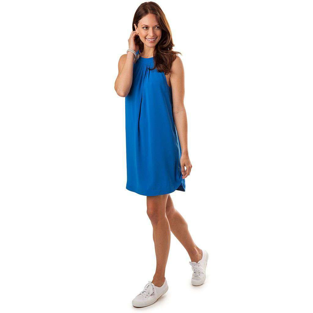Gameday Dress in Legacy Blue by Southern Tide  - 1