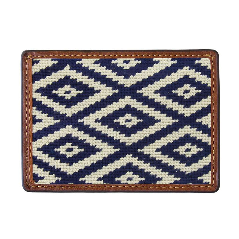 Gaucho Mini Needlepoint Credit Card Wallet by Smathers & Branson