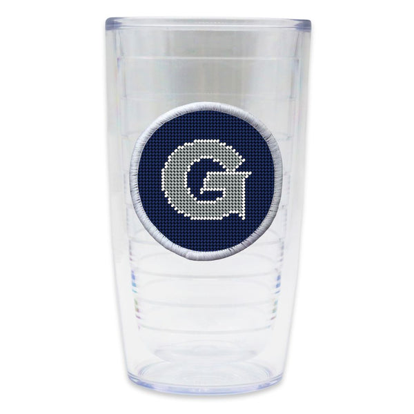Georgetown Needlepoint Tumbler by Smathers & Branson