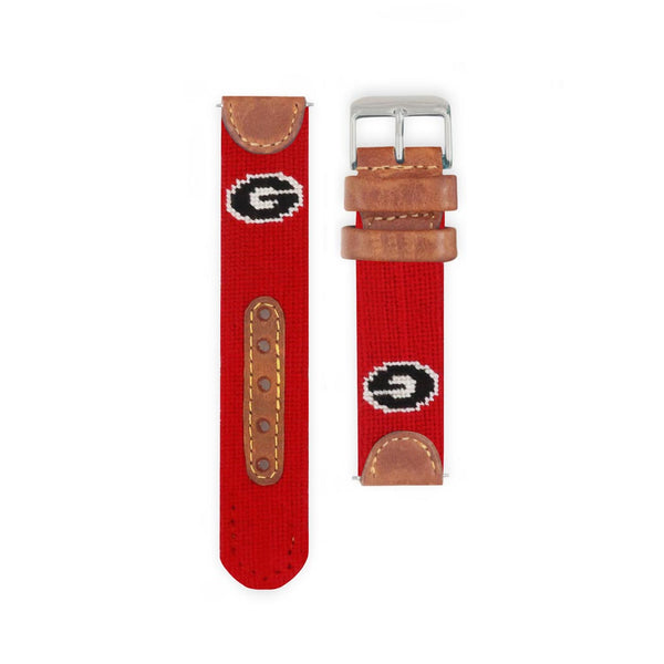University of Georgia Needlepoint Watch by Smathers & Branson