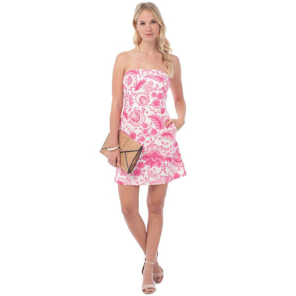 Georgia Strapless Dress in Island Floral by Southern Tide  - 1