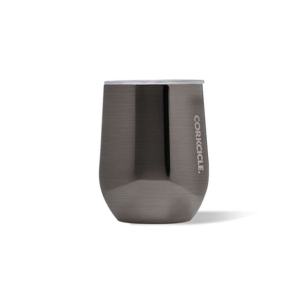 CORKCICLE Classic Stemless Wine Tumbler in Gunmetal by Corkcicle