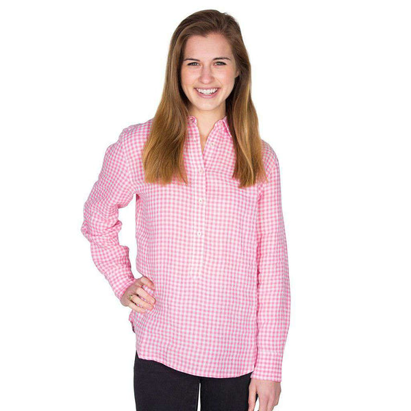 Hadley Popover in Smoothie Gingham by Southern Tide  - 1