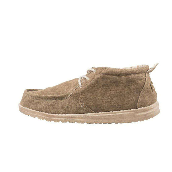 Hey Dude Conrad Shoe in Nut by Hey Dude